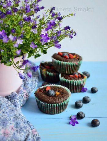 muffinki daktylowe bez cukru